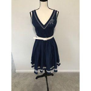 New Sailor Pin-Up Dress
